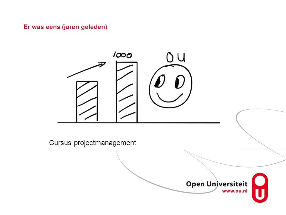 Er was eens (jaren geleden) Cursus projectmanagement