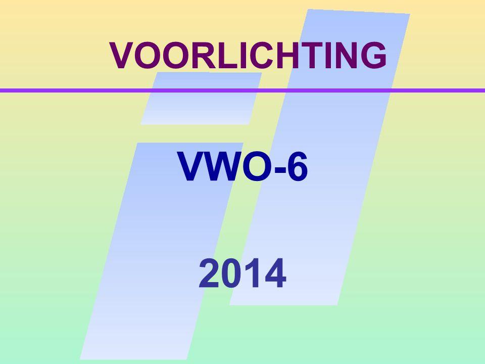 VOORLICHTING VWO-6 2014