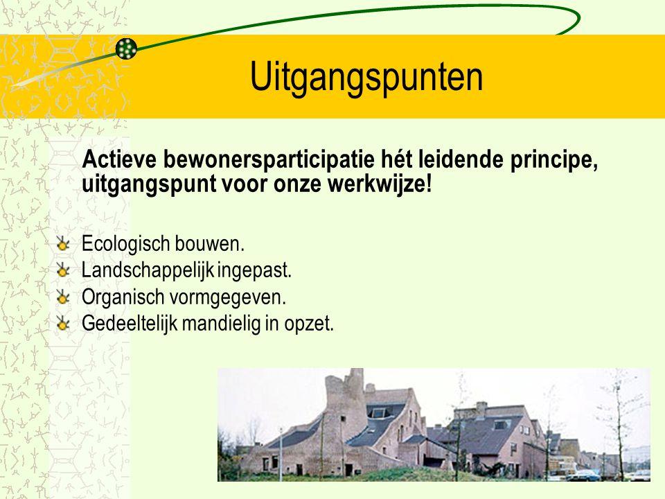 Doel Ecodomus Op een structurele manier bevorderen van de aandacht voor duurzaam milieuvriendelijk en ecologisch bouwen.