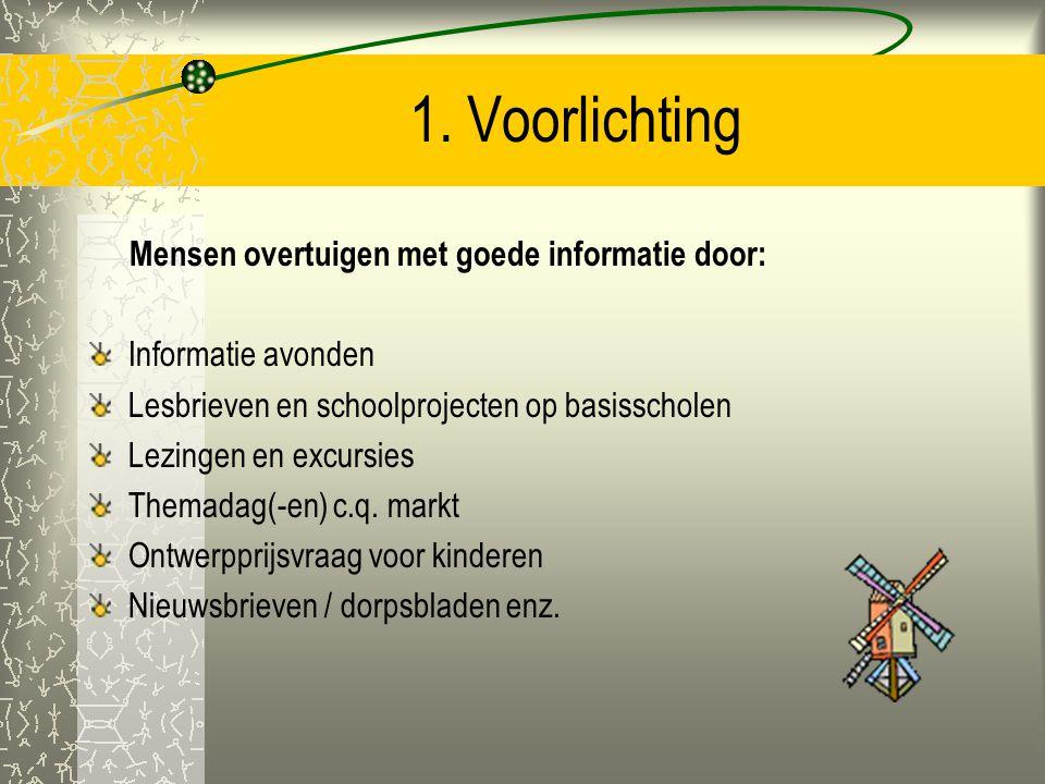 Project Ecodomus Binnen vier jaar wil Ecodomus de volgende zaken gerealiseerd hebben in De Wolden: 1. Voorlichting en bewustwording. 2. Verzamelen van