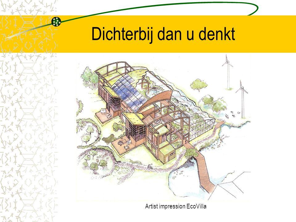 5. Realiseren ecologisch project Praten over ecologisch wonen is leuk maar echt bouwen is overtuigender. Daarom binnen drie jaar: Realiseren van ecolo
