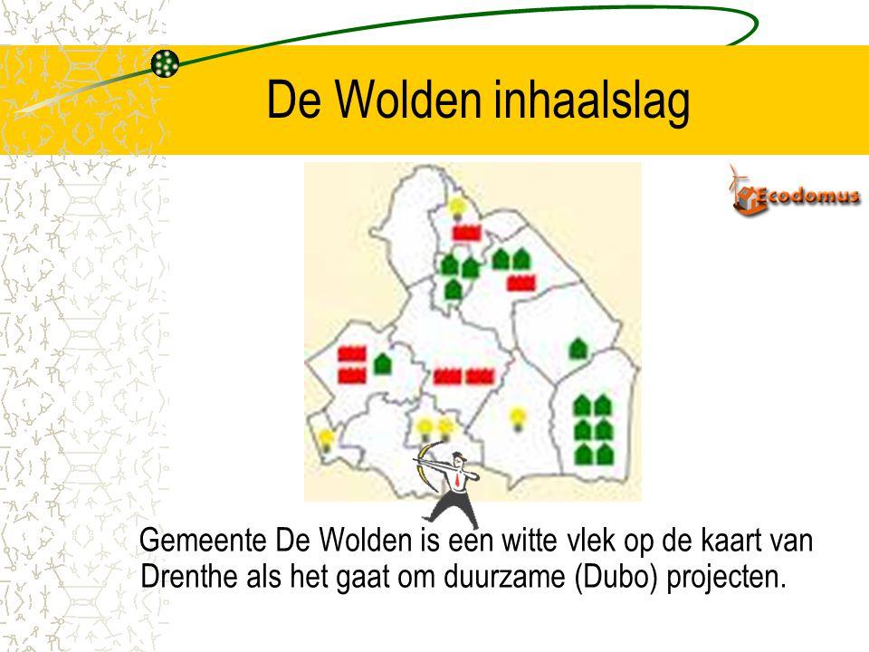 AANLEIDING Bouwplannen in Middelveen IV medio 2005 Groep bewoners wil samen ecologisch bouwen. Geen mogelijkheden bouw 7 ecologische woningen Constate
