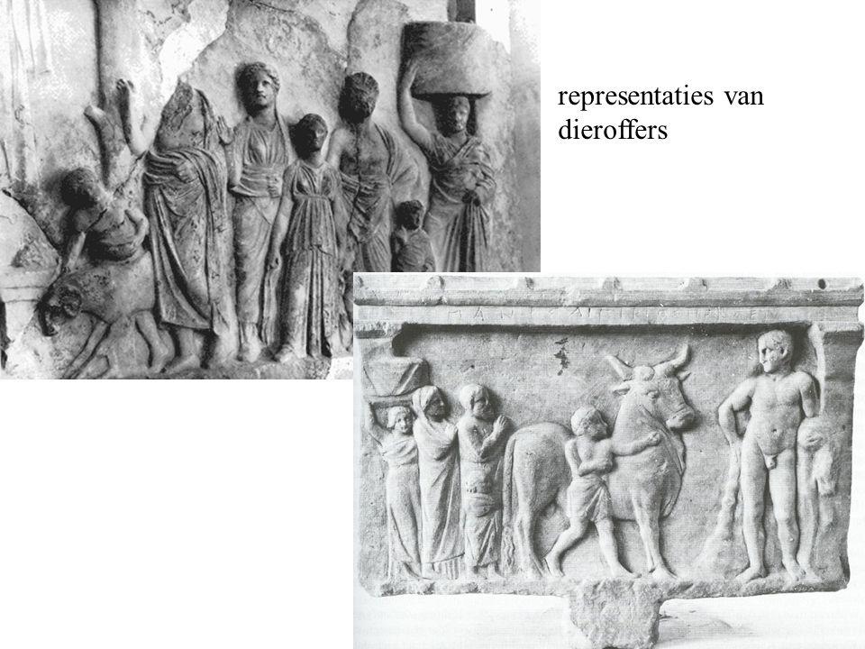 representaties van dieroffers