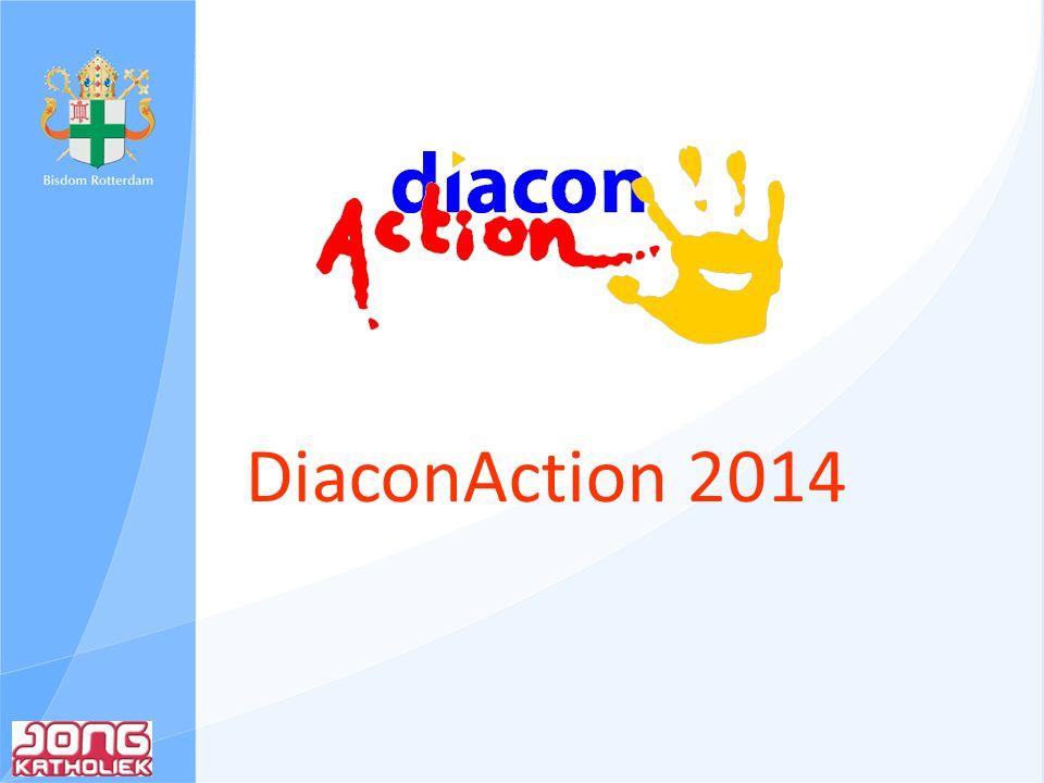 Wat is DiaconAction Diaconie & Actie Jongeren komen in november en december in het hele land in actie voor mensen in hun eigen omgeving