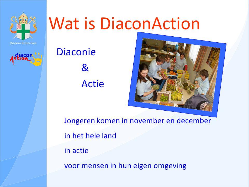Diakonie Een diakonos is een tafeldienaar Diakonie betekent dienen Door:kerken en organisaties, geïnspireerd door Jezus
