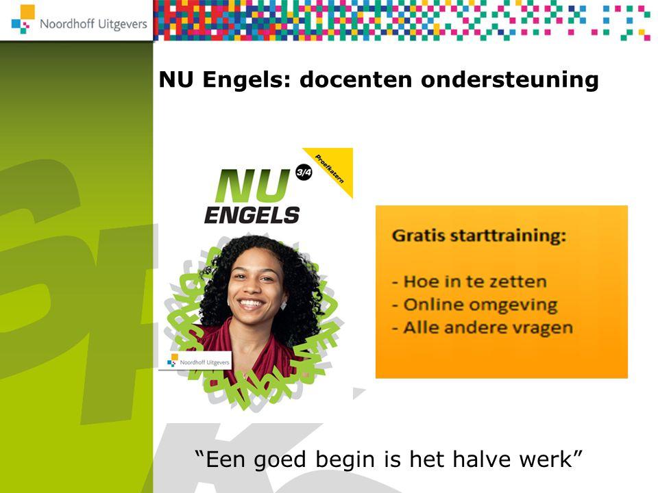 """NU Engels: docenten ondersteuning Rekenen 2F/3F """"Een goed begin is het halve werk"""""""