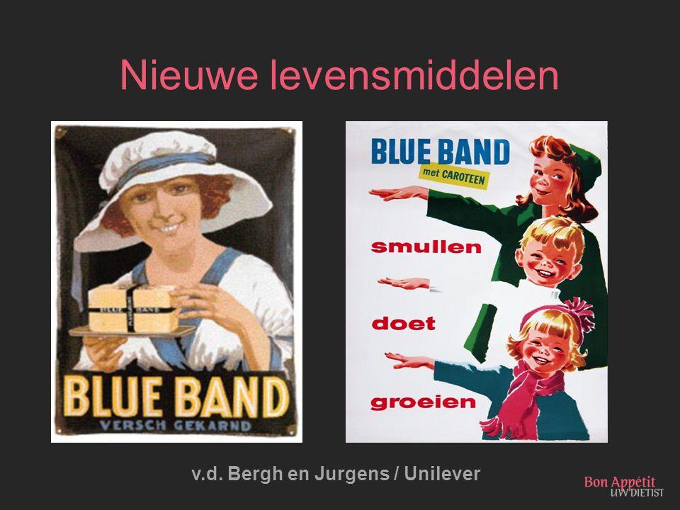 Nieuwe levensmiddelen v.d. Bergh en Jurgens / Unilever