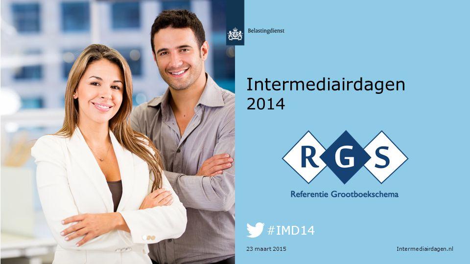 Intermediairdagen.nl #IMD14 Intermediairdagen 2014 23 maart 2015