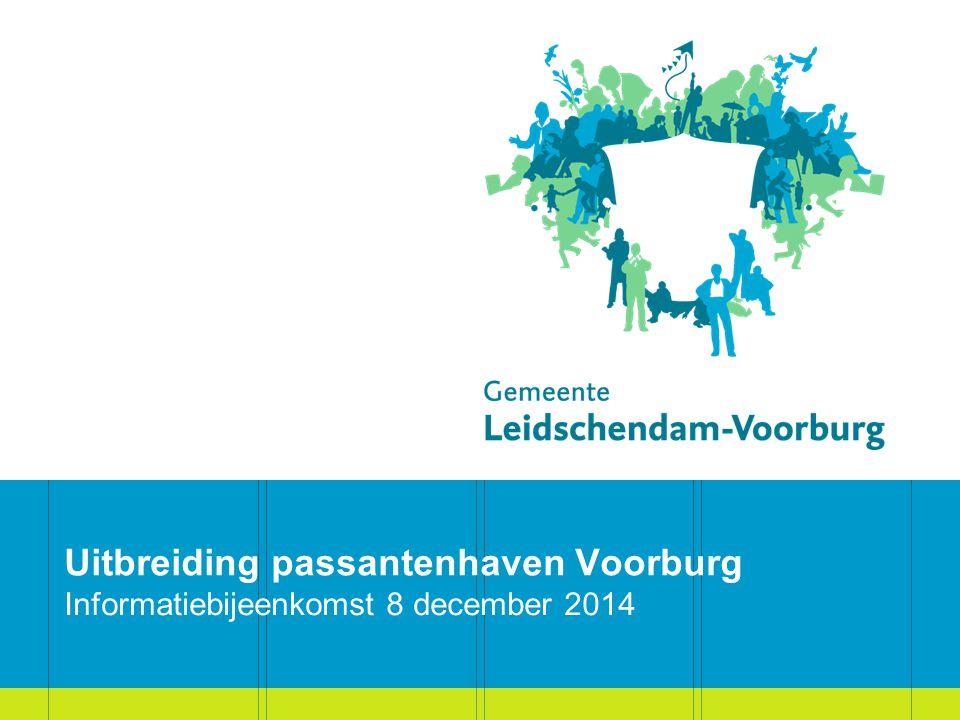 Uitbreiding passantenhaven Voorburg Informatiebijeenkomst 8 december 2014