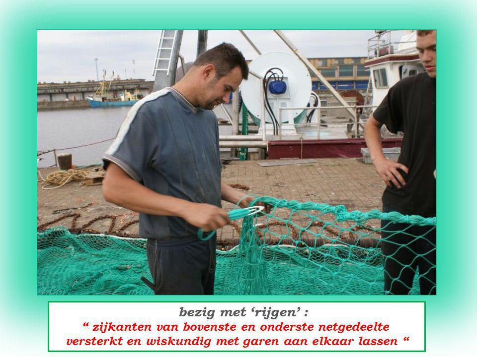 Marretje Aaltje ; pas overgebracht uit Canada Belgisch vissersvaartuig onder Nederlands beheer vist met het bordensysteem