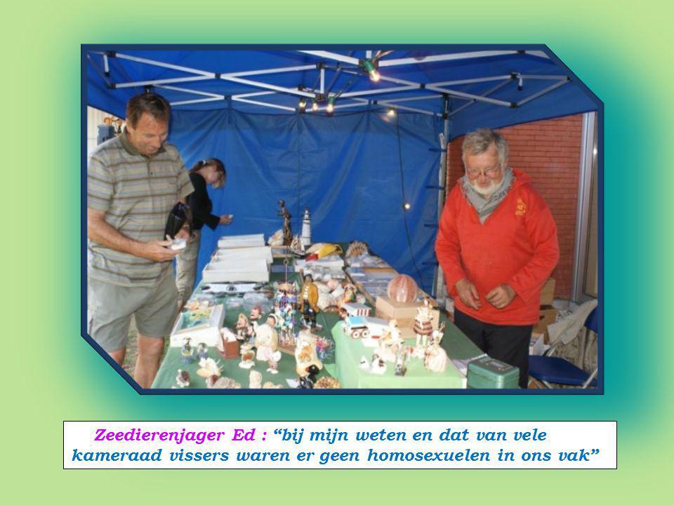 Robert gewezen directeur : 'IBIS' Visserijschool voorzitter : Vriendenkring Noordzee Aquarium Oostende