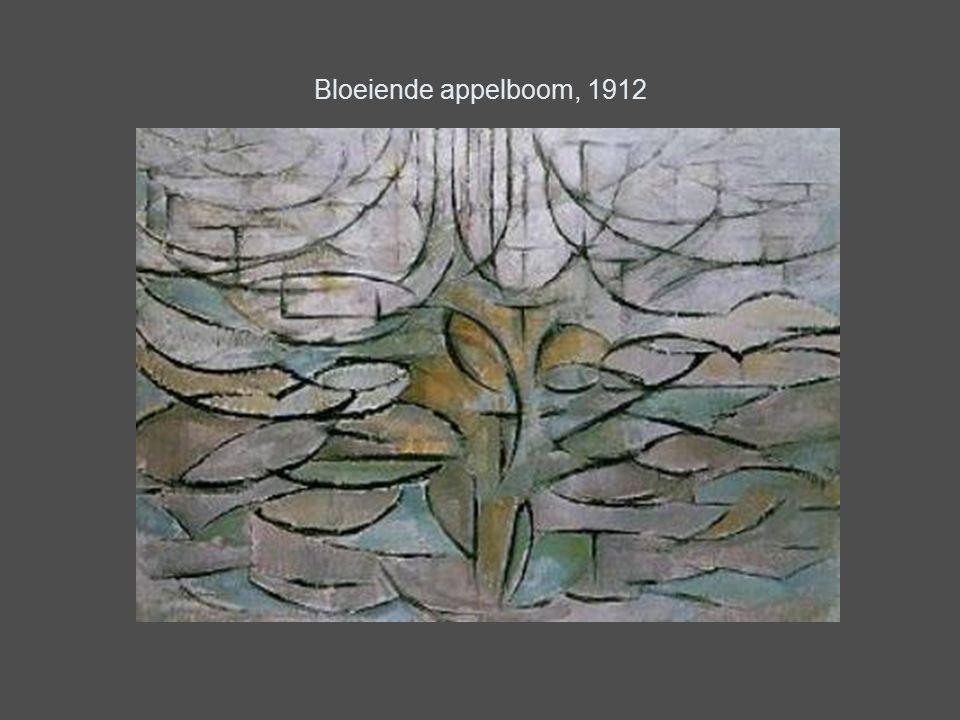 Bloeiende appelboom, 1912