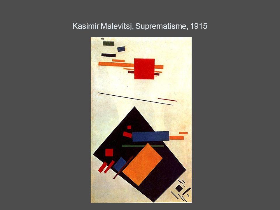 Kasimir Malevitsj, Suprematisme, 1915