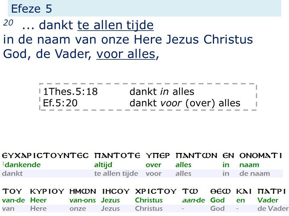 Efeze 5 20...