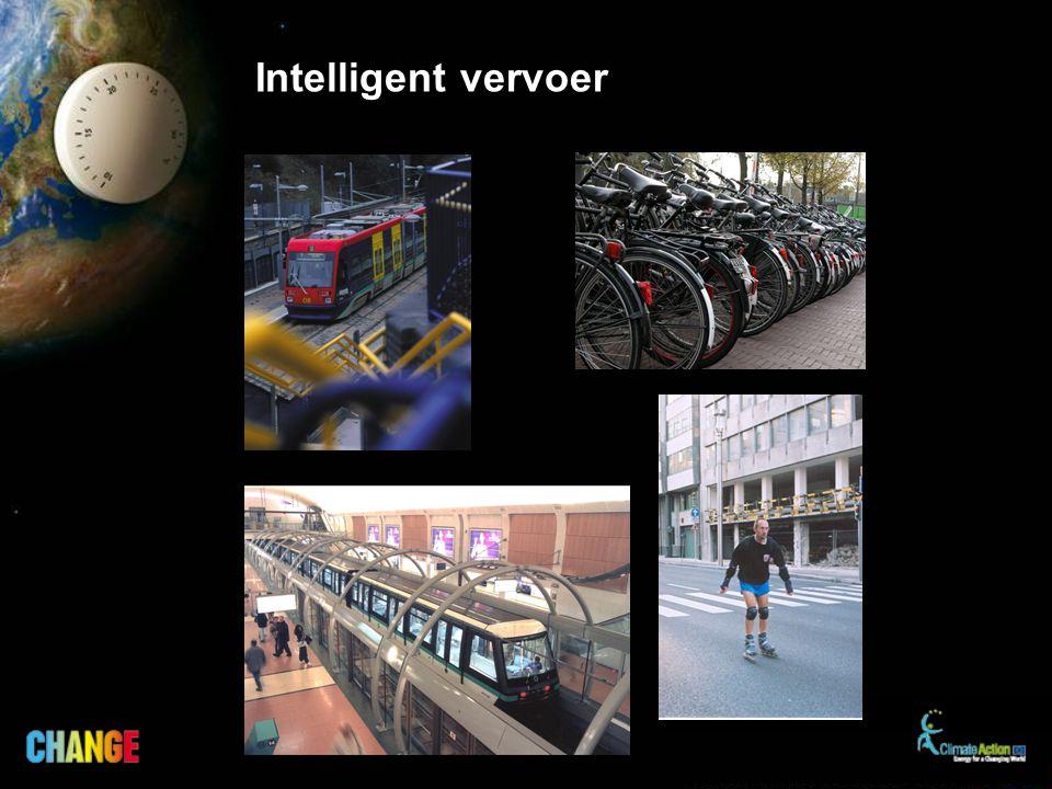 Laat de wagen staan voor korte afstanden.Ga te voet of neem de fiets of het openbaar vervoer.