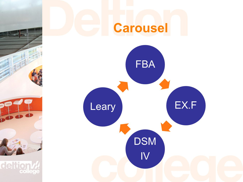 Carousel FBAEX.F DSM IV Leary