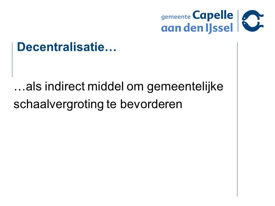 Hoe doen we het in Capelle? Jeugdwet: Regionale jeugdzorg vooral voor Jeugd GGZ
