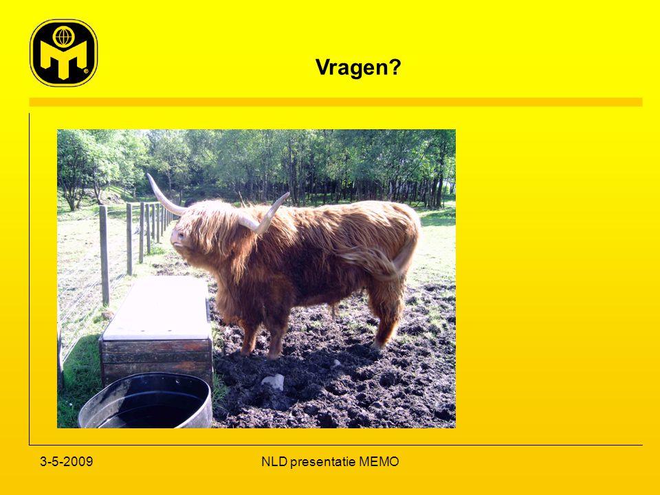 Vragen? 3-5-2009NLD presentatie MEMO