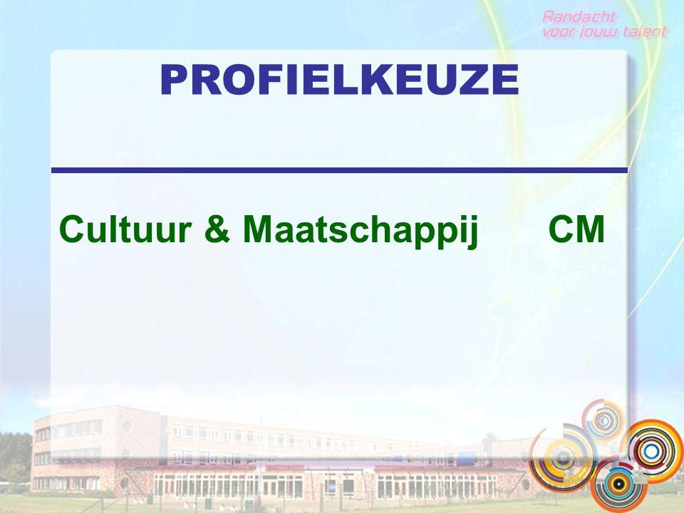 PROFIELKEUZE Cultuur & Maatschappij CM