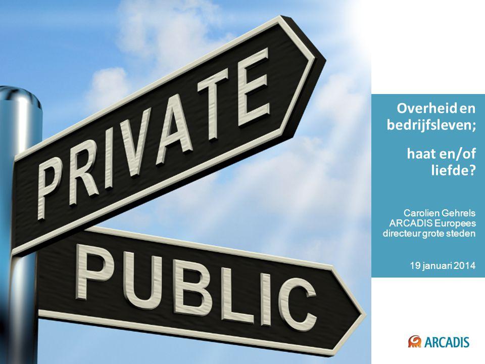 Confidential Business Information © 2014 ARCADIS 12 Gezamenlijke analyse van de stad (nu / over tien jaar) Systems Mobility, housing, energy, water, food, health, education, air quality, culture, waste… urbanism.