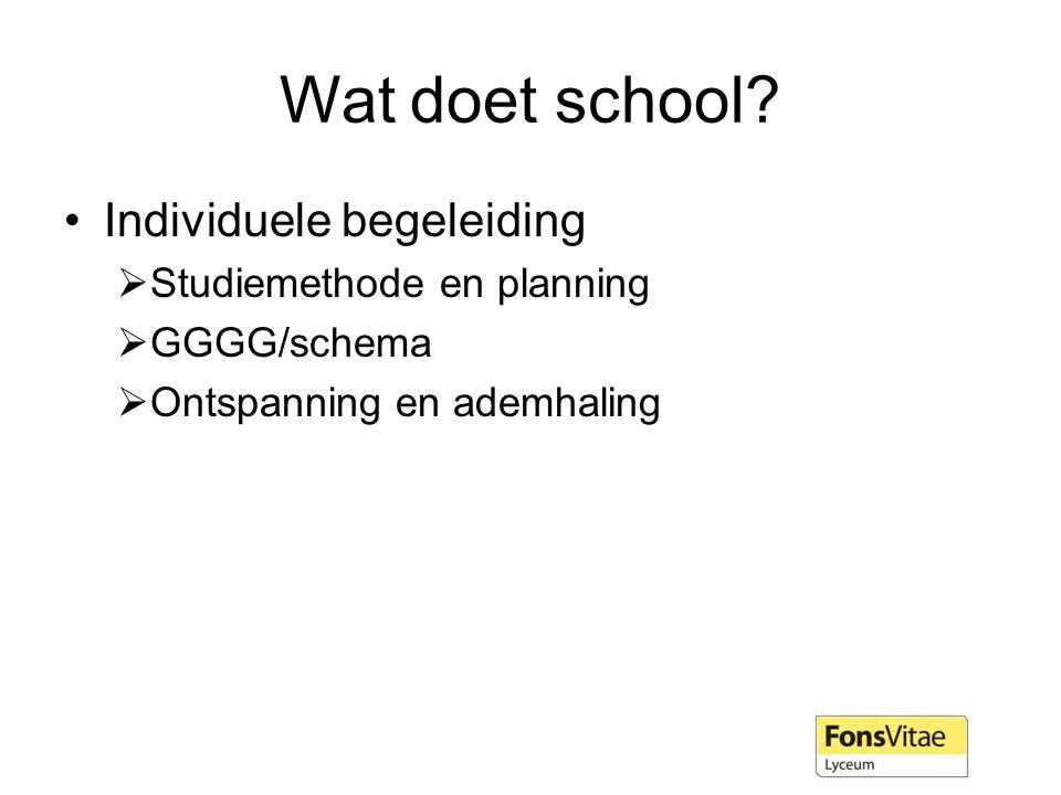 Wat doet school.