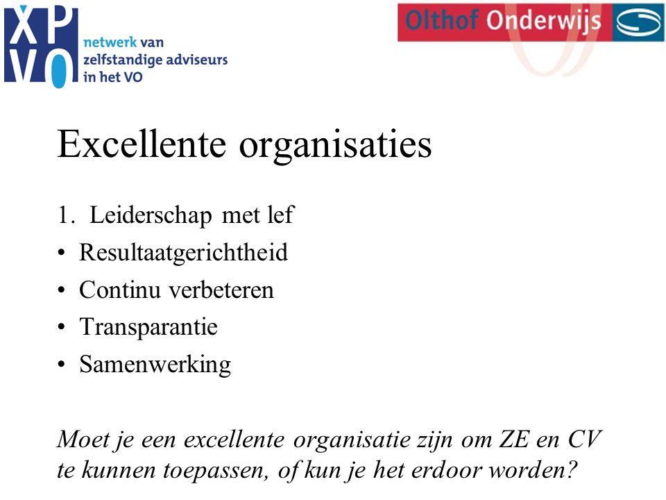 Excellente organisaties 1.