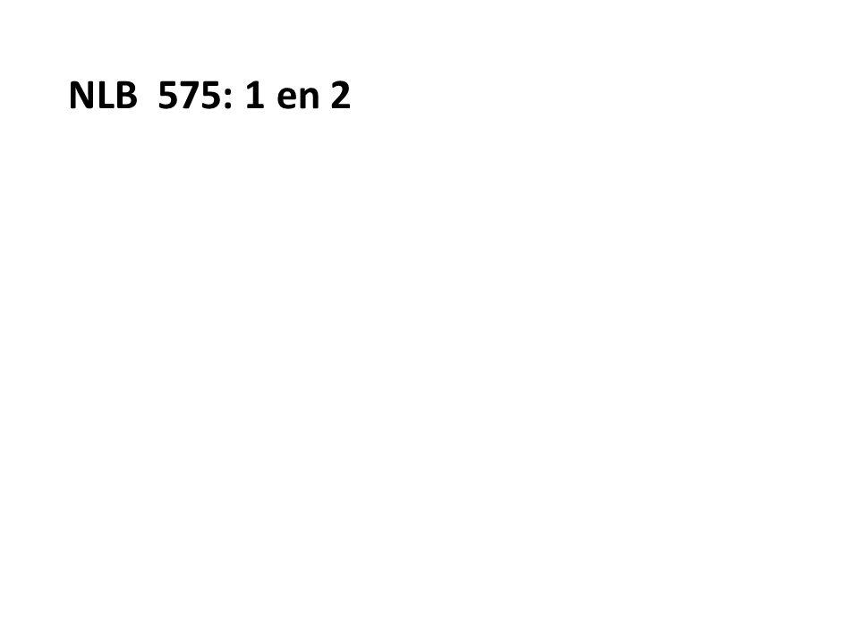NLB 575: 1 en 2