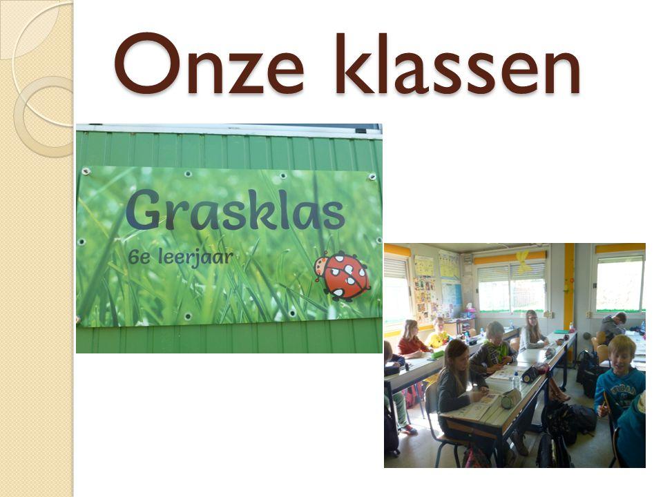 Onze klassen