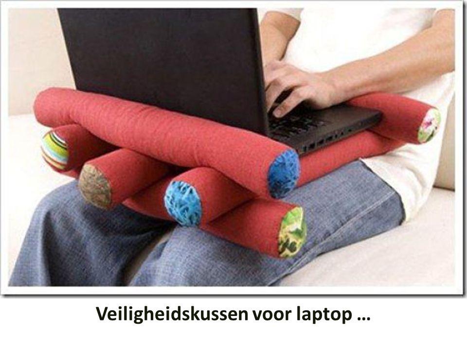 Veiligheidskussen voor laptop …