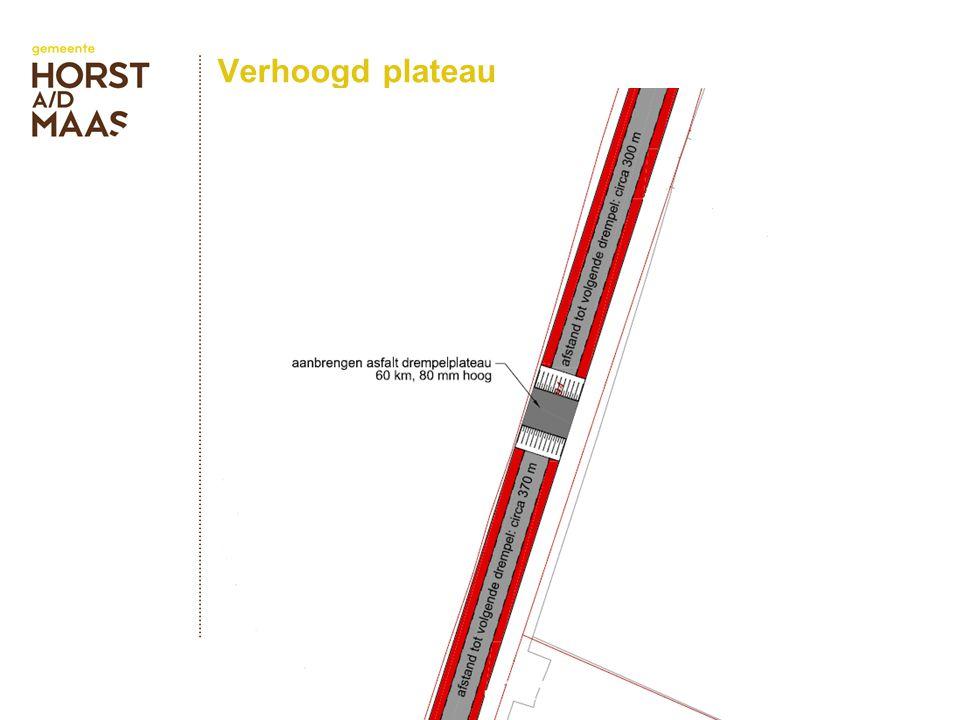 Verhoogd plateau