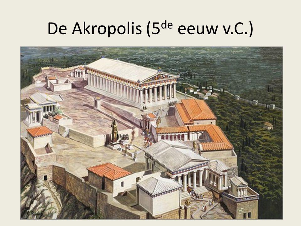 De Akropolis (5 de eeuw v.C.)