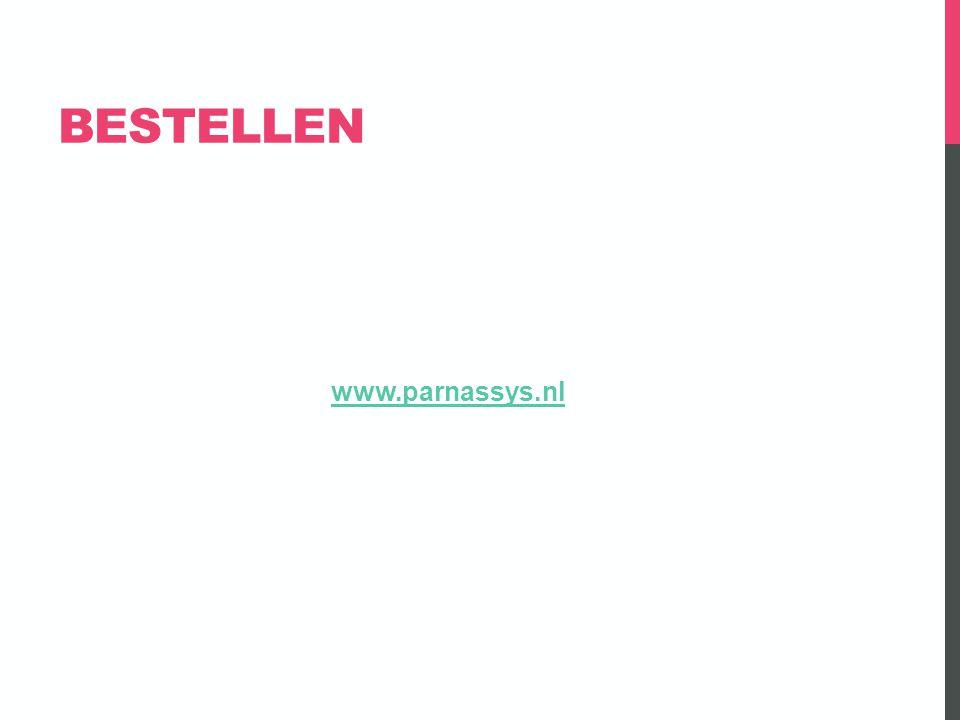 BESTELLEN www.parnassys.nl