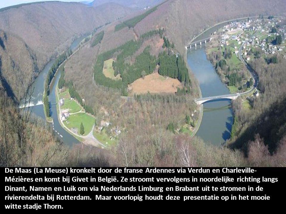 Stroomgebied van de Maas. De bron van de Maas in Pouilly