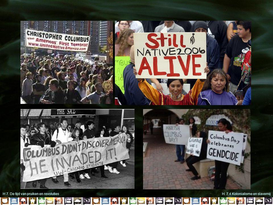 H 7. De tijd van pruiken en revolutiesH. 7.4 Kolonialisme en slavernij