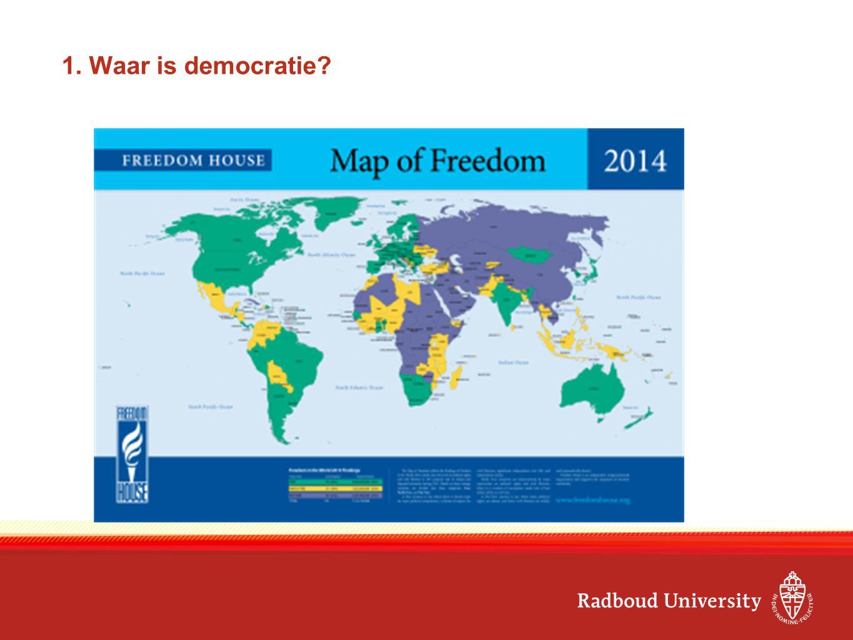 1. Waar is democratie?