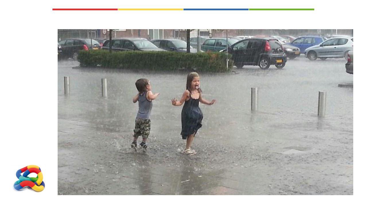 Wat doet u als het regent?