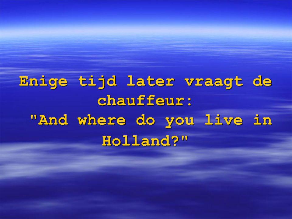 Hij: We live in tilburg.