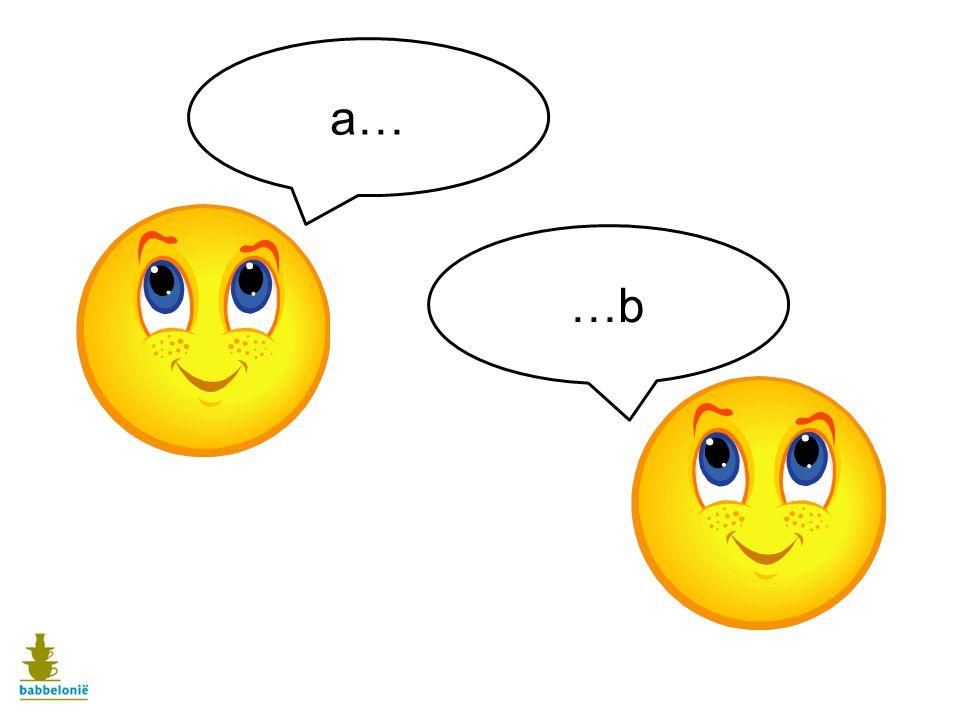 Wie 'a' zegt, moet 'b' zeggen. Als je ergens aan begint, moet je het ook afmaken.
