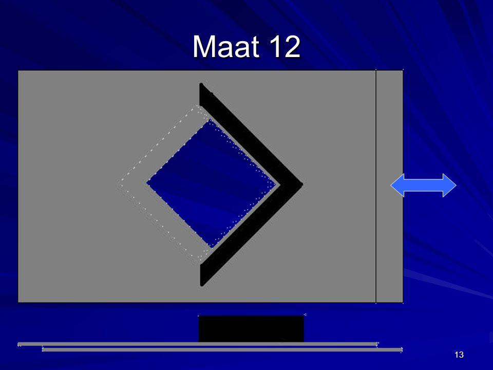 13 Maat 12