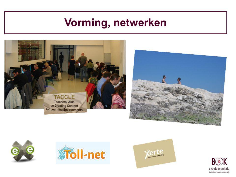 Vorming, netwerken
