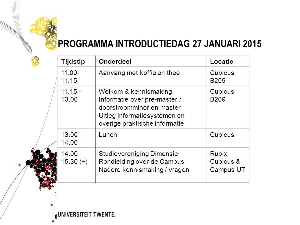  Te bereiken via my.utwente.nl  Zowel desktop als mobiele sitemy.utwente.nl  Alle UT systemen via één website  Bijv.
