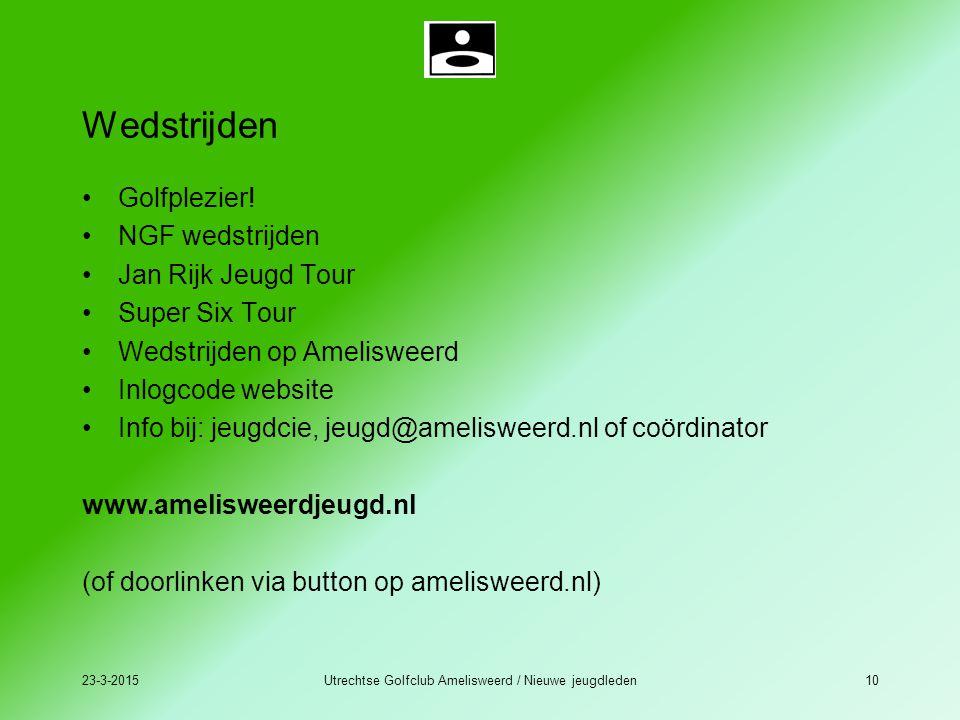 23-3-2015Utrechtse Golfclub Amelisweerd / Nieuwe jeugdleden10 Wedstrijden Golfplezier! NGF wedstrijden Jan Rijk Jeugd Tour Super Six Tour Wedstrijden