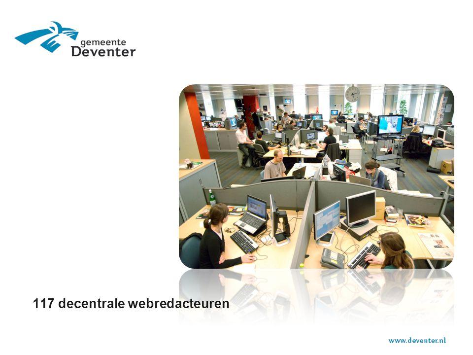 117 decentrale webredacteuren