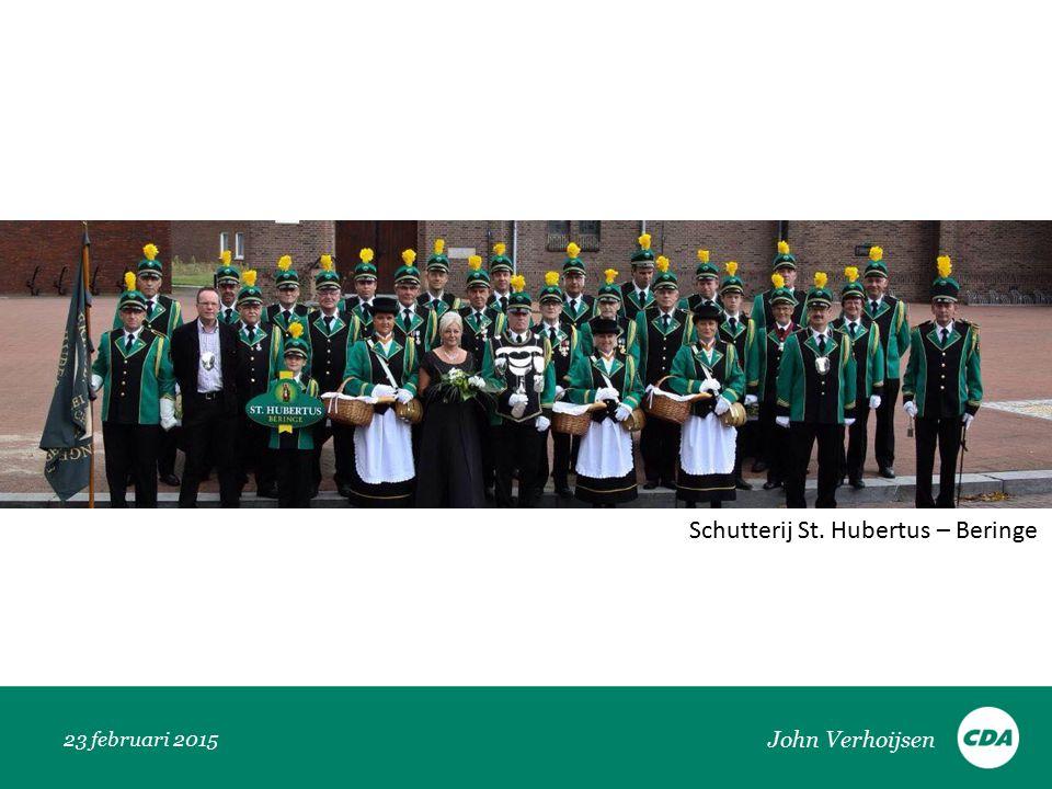 23 februari 2015 Schutterij St. Hubertus – Beringe John Verhoijsen