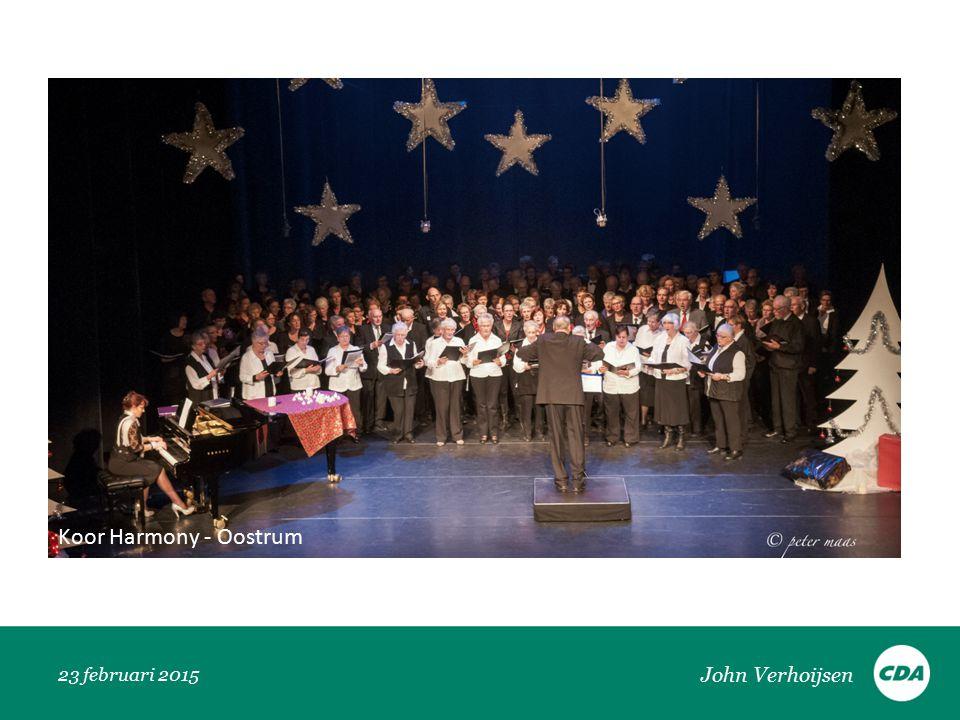 23 februari 2015 Koor Harmony - Oostrum John Verhoijsen