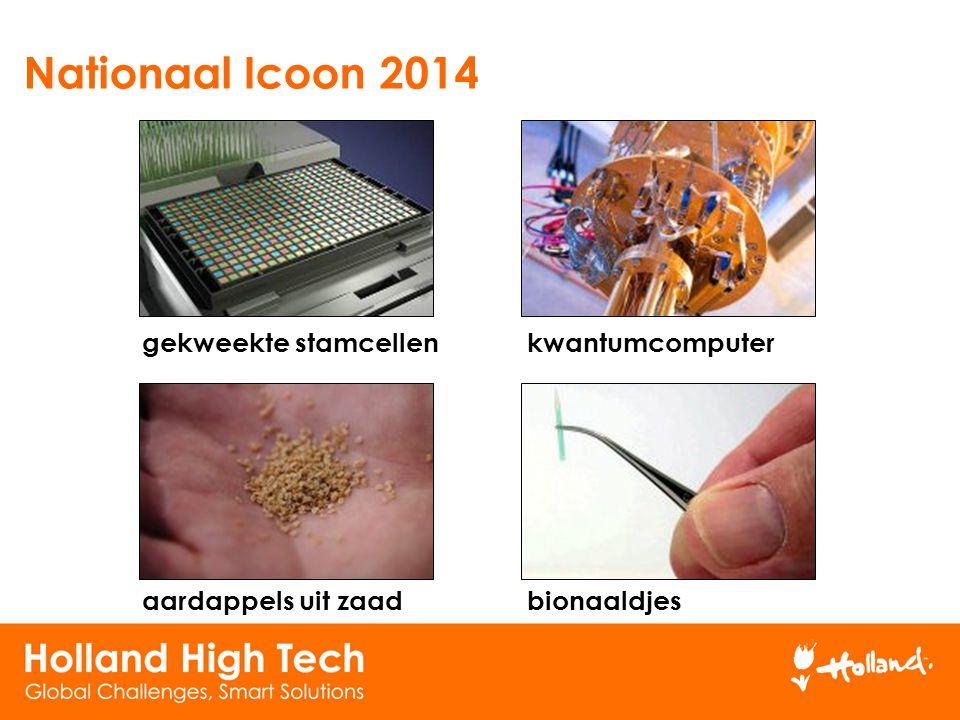 Nationaal Icoon 2014 gekweekte stamcellenkwantumcomputer aardappels uit zaadbionaaldjes