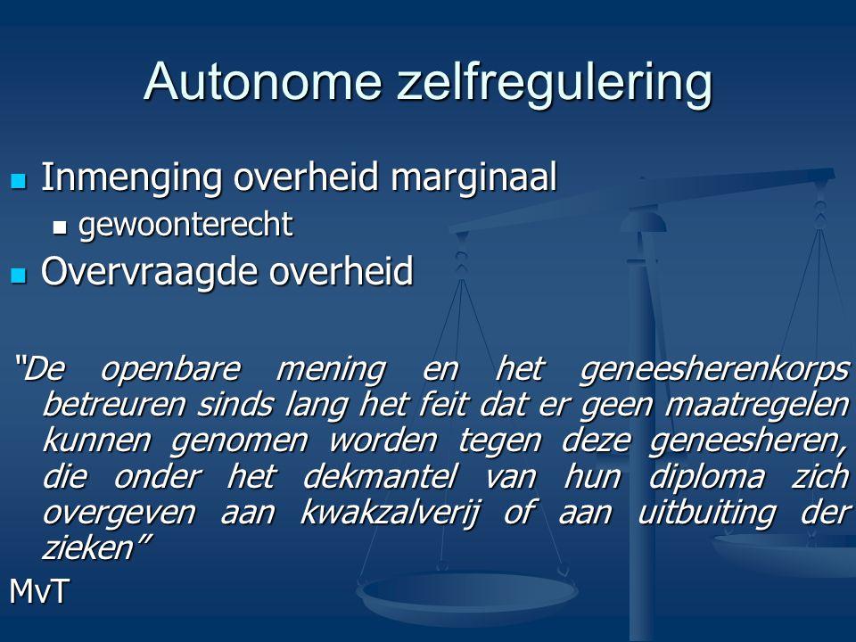 Bevoegdheden Tuchtrecht Tuchtrecht Het opmaken van de lijst van de orde Het opmaken van de lijst van de orde Individuele maatregelen Individuele maatregelen Adviserende bevoegdheid Adviserende bevoegdheid Scheidsrechterlijke bevoegdheid ivm erelonen Scheidsrechterlijke bevoegdheid ivm erelonen Aangifte van onwettige geneeskunde Aangifte van onwettige geneeskunde Het bepalen van de jaarlijkse bijdrage Het bepalen van de jaarlijkse bijdrage