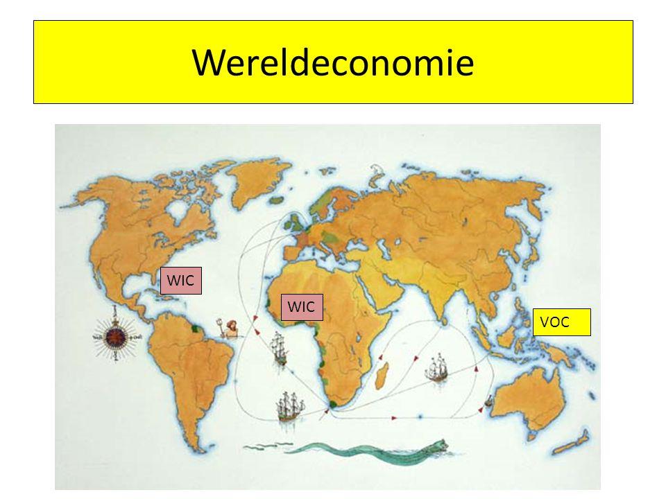Wereldeconomie VOC WIC