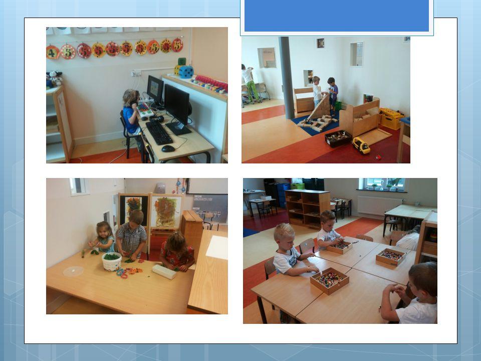 Middagen Middagen  Kring  Gymles of buitenspel  Hoekenwerk: kiezen via kiesbord, hoeken, begeleiding / volgen in ontwikkeling.