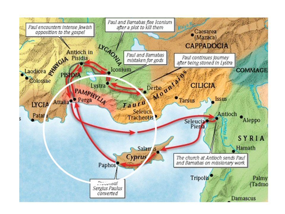 19 en na zeven volken uitgeroeid te hebben in het land Kanaan, heeft Hij hun land hun ten erfdeel gegeven, Handelingen 13 lett.
